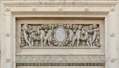 image of throne  - Marble carving detail from The Ananta Samakhom Throne Hall - JPG