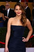 Jennifer Lawrence at the 19th Annual Screen Actors Guild Awards Arrivals, Shrine Auditorium, Los Ang