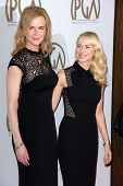 Nicole Kidman, Naomi Watts at the 24th Annual Producers Guild Awards, Beverly Hilton, Beverly Hills,