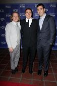 Jonathan Gordon, David O. Russell, Bruce Cohen at the SBIFF Outstanding Performer of the Year award