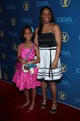 Quvenzhane Wallis, Qulyndreia Wallis at the 65th Annual Directors Guild Of America Awards Arrivals,