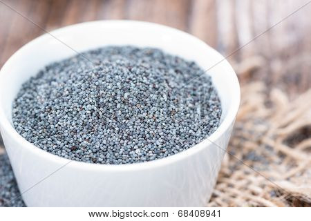 Poppyseed In A Bowl