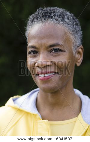 Smiling African American Woman