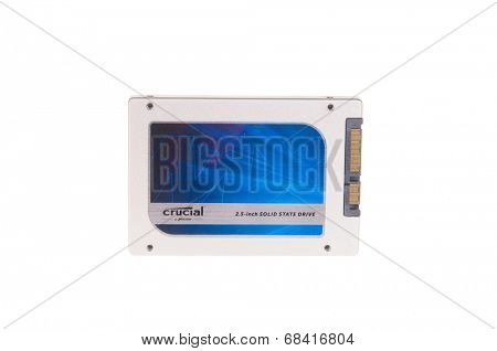 Hayward, July 16, 2014: 512 GB Crucial Solid State Drive by Micron