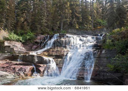Saint Mary Falls, Glacier National Park