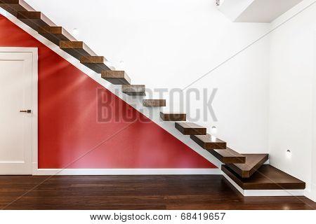 Modern Illuminated Stairs