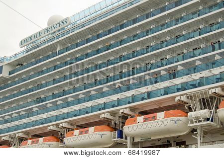 Emerald Princess Ship Balconies