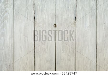 Weathered White Fence Background