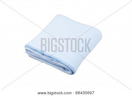 blue fleece blanket for baby