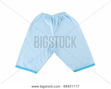 Blue baby pant