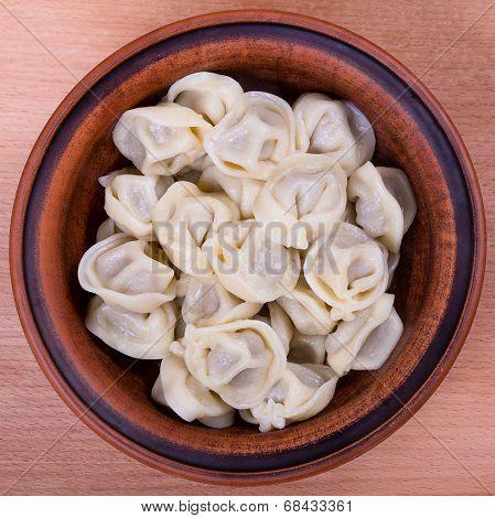 Meat Dumplings - Russian Boiled Pelmeni