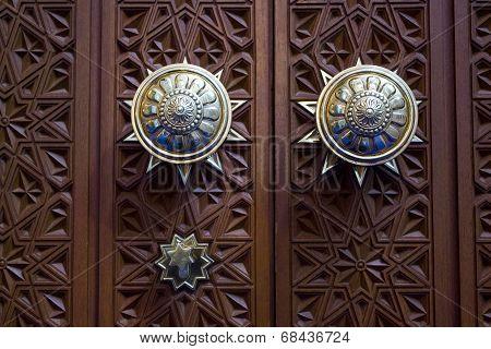 Omani Grand Mosque Door Detail