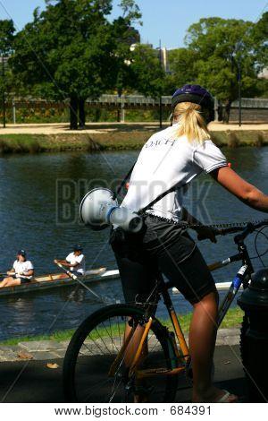 Treinador de canoa