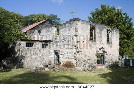 Old Sugar Mill Industry Bequia Svg