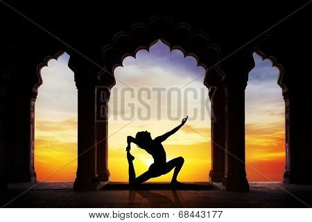 Yoga In The Temple