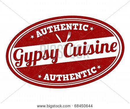 Gypsy Cuisine Stamp