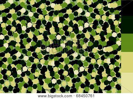 Camouflage pattern design