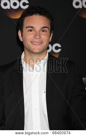 LOS ANGELES - JUL 15:  Troy Gentile at the ABC July 2014 TCA at Beverly Hilton on July 15, 2014 in Beverly Hills, CA