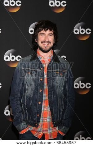 LOS ANGELES - JUL 15:  Nicolas Wright at the ABC July 2014 TCA at Beverly Hilton on July 15, 2014 in Beverly Hills, CA