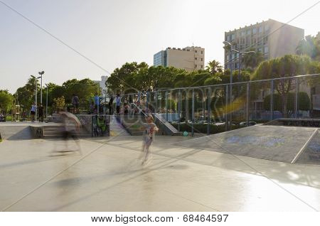 Skateboard Park, Molos, Limassol, Cyprus