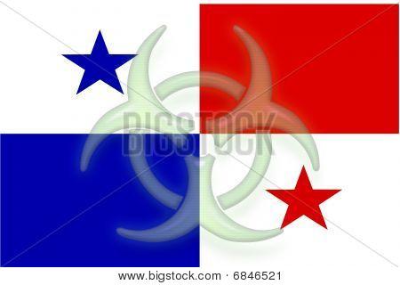 Flag Of Panama Health Warning