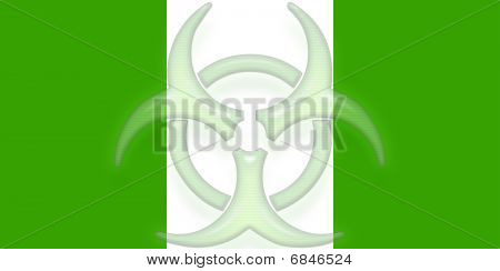 Flag Of Nigeria Health Warning