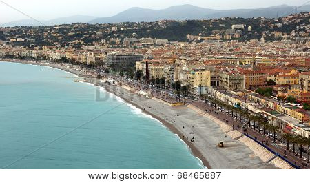 City Of Nice - Panoramic View