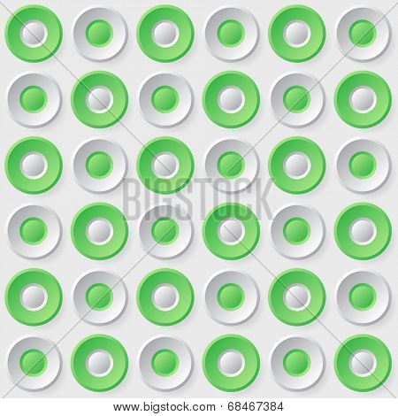 Seamless button background pattern illustration