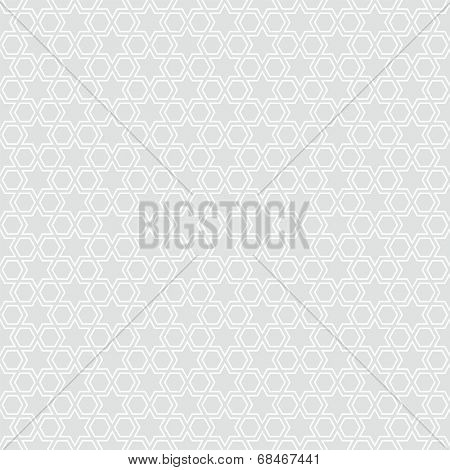 Seamless star pattern background illustration