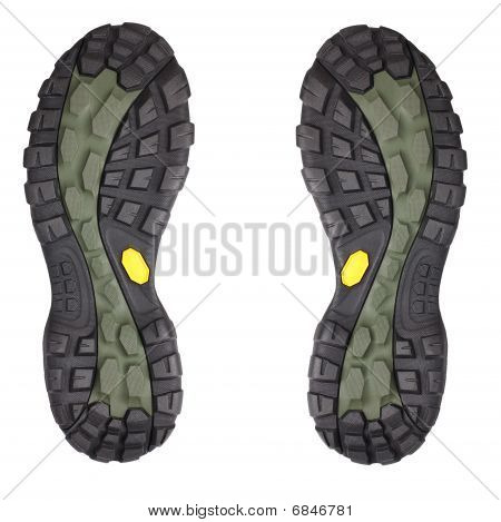 Sole Of Sport Shoe