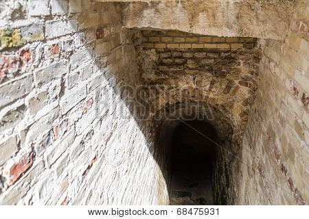 Staircase To A Vaulted Cellar