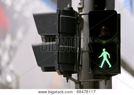 Pedestrian,Go Sign