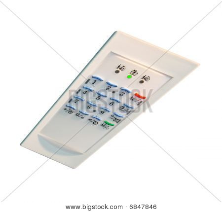Home Security, Control Panel, Plastic, Safety