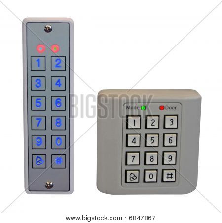Pass Control Panel, Plastic Box, Home Security, Safety