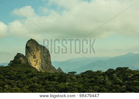 Climbing Rock In Brazil