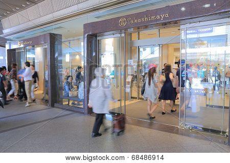Takashimaya department store Kyoto Japan
