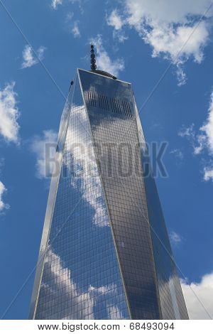 Freedom Tower in Lower Manhattan