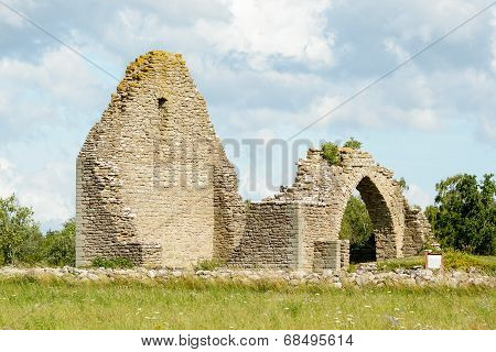 Ruins Of St. Knut Chapel
