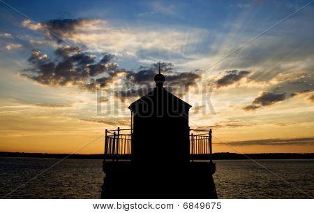 Lighthouse silouette