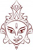 stock photo of durga  - Durga - JPG