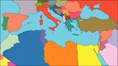 Mediterranean Region, Countries