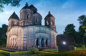 foto of radha  - Shyamroy Temple Bishnupur India  - JPG