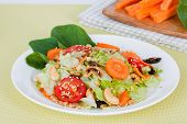 foto of iceberg lettuce  - carrot salad with iceberg lettuce - JPG