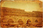 foto of medusa  - Libya Tripoli Leptis Magna Roman archaeological site  - JPG