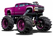 pic of bigfoot  - Cartoon Monster Truck - JPG