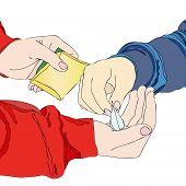 picture of drug dealer  - A drug dealer  - JPG