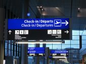 Airport Gate Sign, Flight,airline
