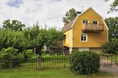 stock photo of middle class  - Swedish middle class home in Stockholm region - JPG