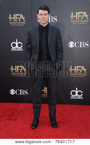 LOS ANGELES - NOV 14:  Patrick Fugit arrives to the The Hollywood Film Awards 2014 on November 14, 2014 in Hollywood, CA