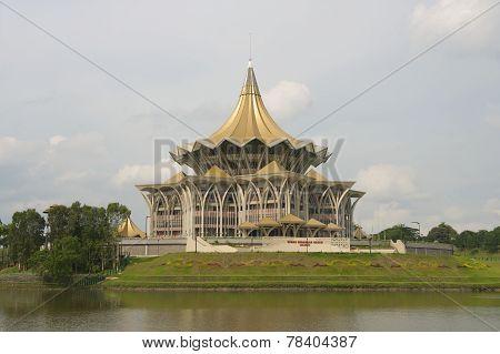 State Legislative Assembly building, Kuching, Malaysia.